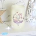 Personalised Tiny Tatty Teddy Unicorn Nightlight LED Candle