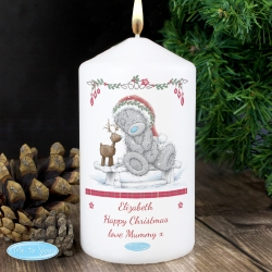Personalised Me To You Reindeer Candle