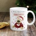 Personalised Boofle Christmas Love Mug