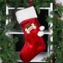 Personalised Dog Treats Luxury Christmas Stocking