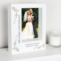 Personalised Fresh Botanical 5x7 Box Photo Frame