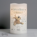 Personalised Boofle It's a Boy Nightlight LED Candle
