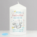 Personalised Me to You Godmother Pillar Candle