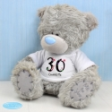 Personalised Me to You Bear with Big Age Birthday T-Shirt