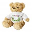Personalised Girls Animal Alphabet Message Bear