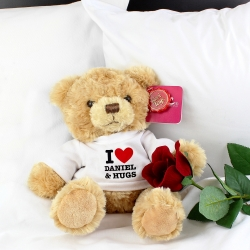 Personalised I HEART Teddy