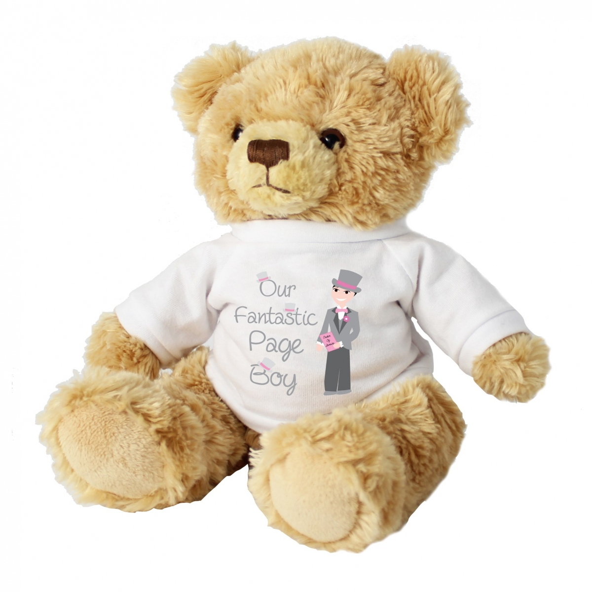 Fabulous Page Boy Teddy