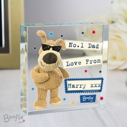 Personalised Boofle Stars Large Crystal Token