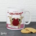 Personalised Boofle Shared Heart Mug