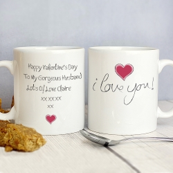 Personalised I Love You Mug | Personalised Gift