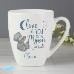 Personalised Me to You 'Love You to the Moon and Back' Latte Mug