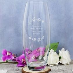 Personalised Floral Bullet Vase