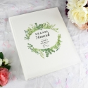 Personalised Fresh Botanical Traditional Photo Album