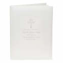 Personalised Silver Cross Traditional Album