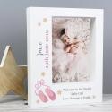 Personalised Swan Lake Ballet 7x5 Box Photo Frame