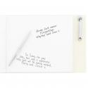 Personalised In Loving Memory Guest Book & Pen