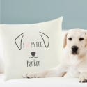 Personalised Dog Features Cushion Cover