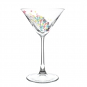 Personalised Birthday Balloon Cocktail Glass