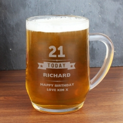 Personalised Birthday Star Tankard