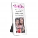 Personalised Bestie 3x2 Photo Frame