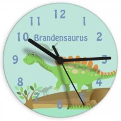 Personalised Dinosaur Clock