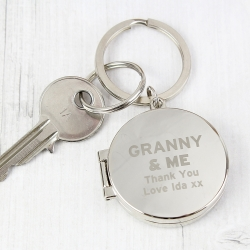 Personalised & ME Photo Keyring