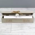 Personalised Wooden Wedding Certificate Holder