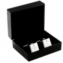 Personalised Decorative Wedding Father of the Groom Square Cufflinks
