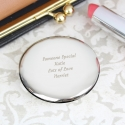 Personalised 'Any Message' Compact Mirror