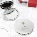 Personalised Ballerina Compact Mirror