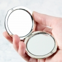 Personalised 'Beautiful Bridesmaid' Compact Mirror