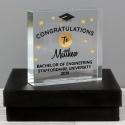 Personalised Congratulations Graduation Large Crystal Token