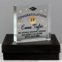 Personalised Congratulations Graduation Large Crystal Token