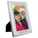 Personalised Graduation 6x4 Silver Photo Frame