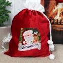 Personalised Red Christmas Santa Sack