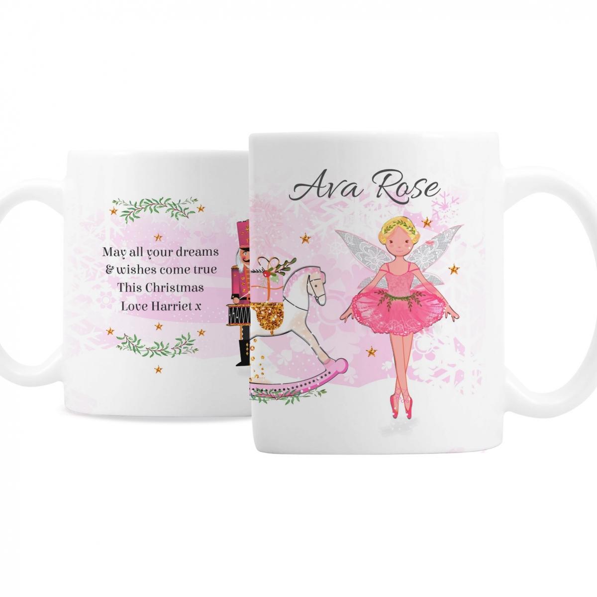 Personalised Sugar Plum Fairy Mug
