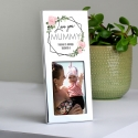 Personalised Abstract Rose 3x2 Photo Frame