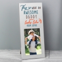 Personalised 'This Is What Awesome Looks Like' Silver 2x3 Photo Frame