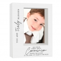 Personalised 'Truly Blessed' First Holy Communion 5x7 Box Photo Frame