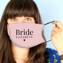 Personalised Face Covering for Brides