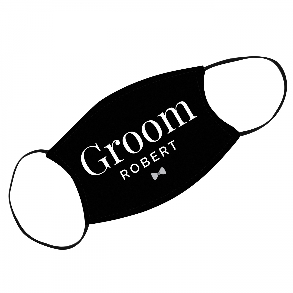 Personalised Face Covering for Grooms