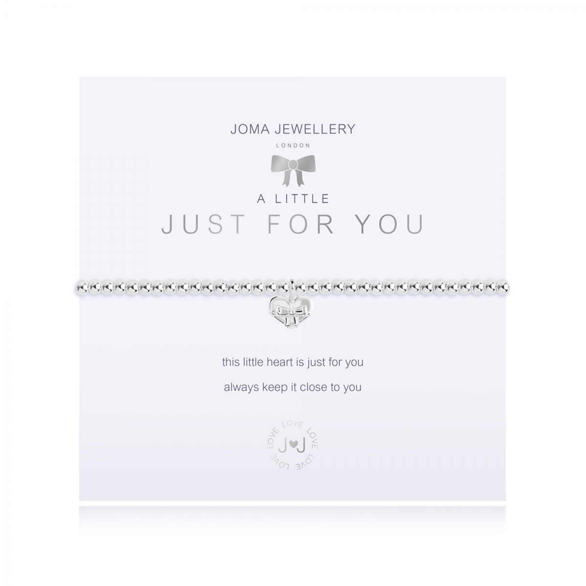 Joma Jewellery - A Little 'Just For You' Bracelet
