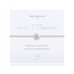 Joma Jewellery – A Little 'Family Forever' Bracelet