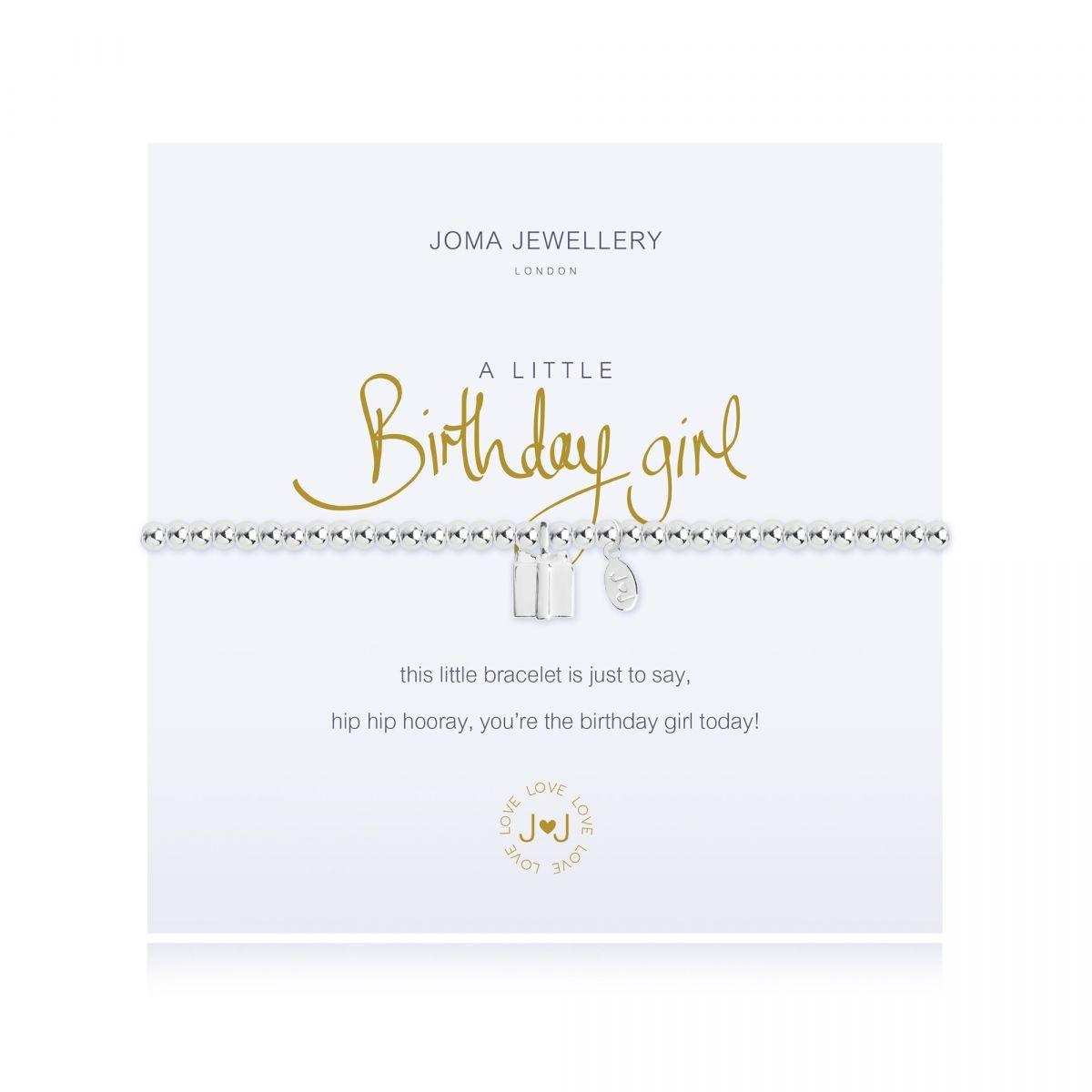 Joma Jewellery A Little Birthday Girl Bracelet