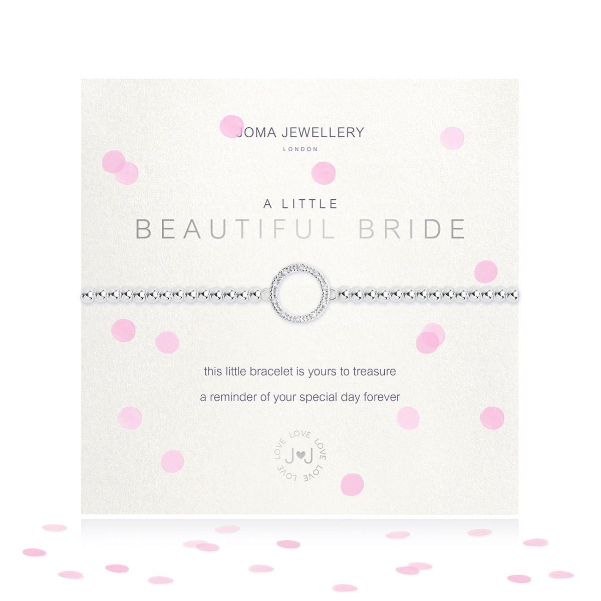 Joma Jewellery A Little 'Beautiful Bride' Bracelet