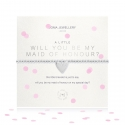 Joma Jewellery A Little 'Will You Be My Maid Of Honour' Bracelet