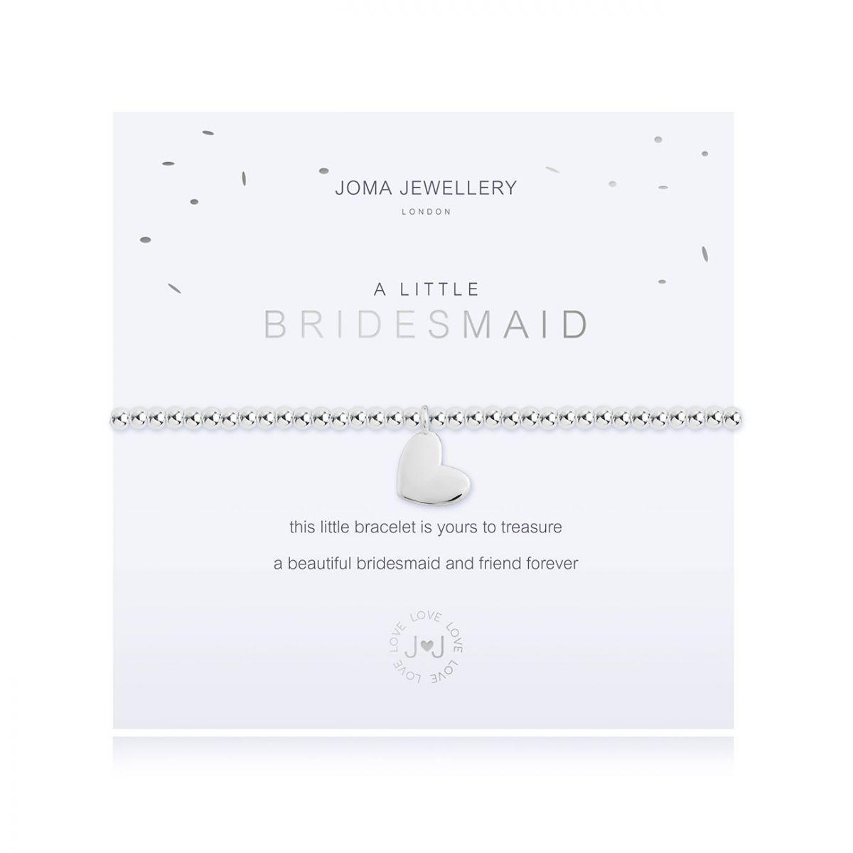 Joma Jewellery A Little 'Bridesmaid' Bracelet
