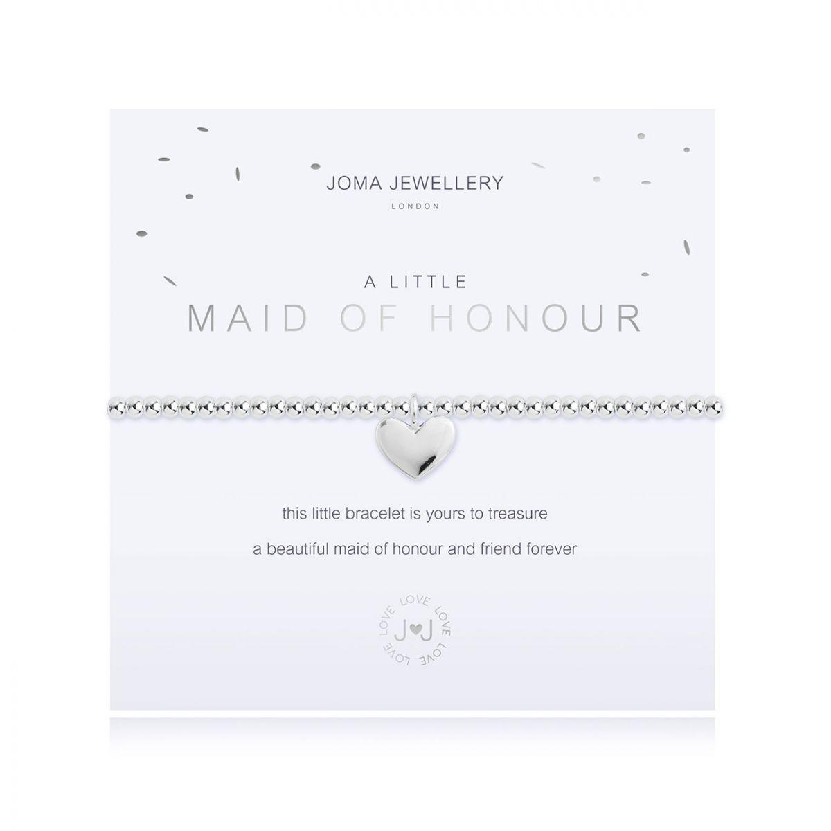 Joma Jewellery A Little 'Maid of Honour' Bracelet