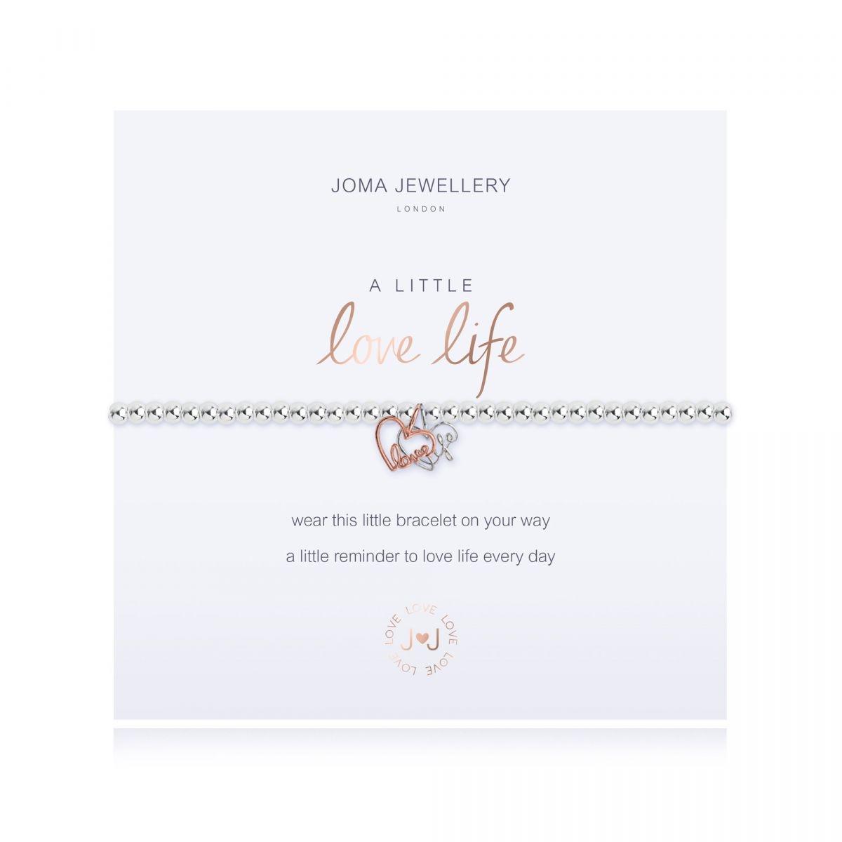 Joma Jewellery A Little 'Love Life' Bracelet