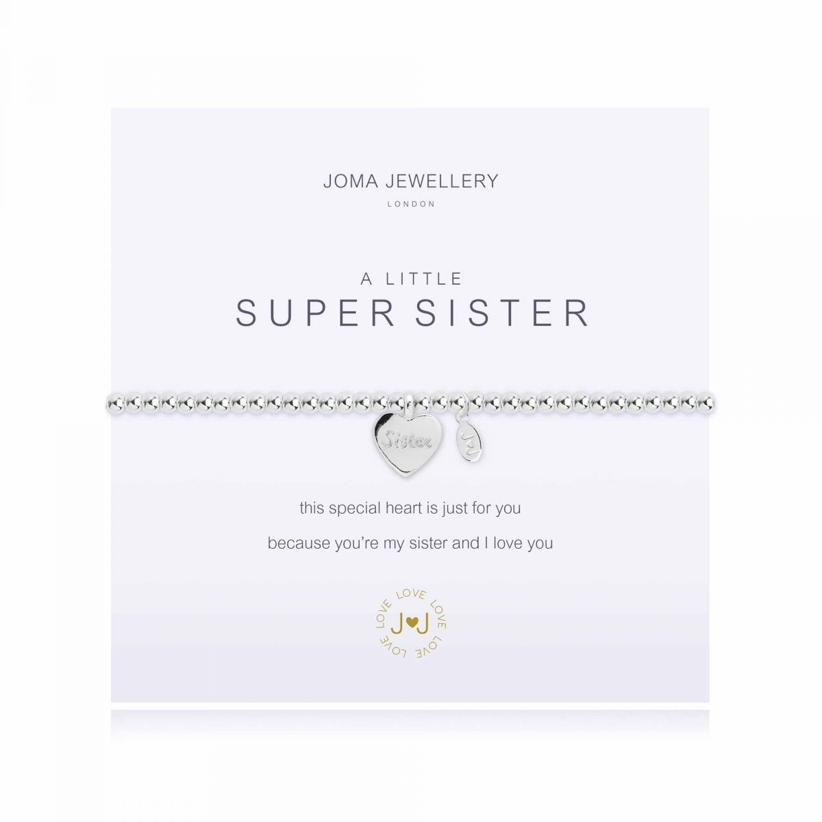 Joma Jewellery A Little 'Super Sister' Bracelet